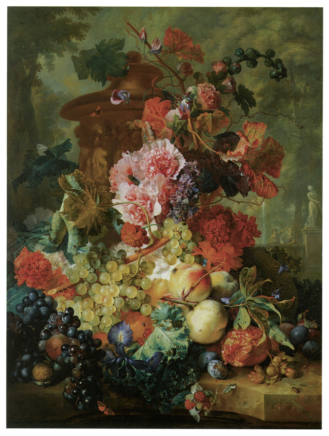 1222 Fruits and Flowers Paint Art Decor POSTER.Graphics to decorate home office.