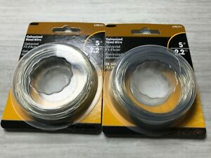 2-PK-Galvanized-Steel-Wire-28-Gauge-100-Feet