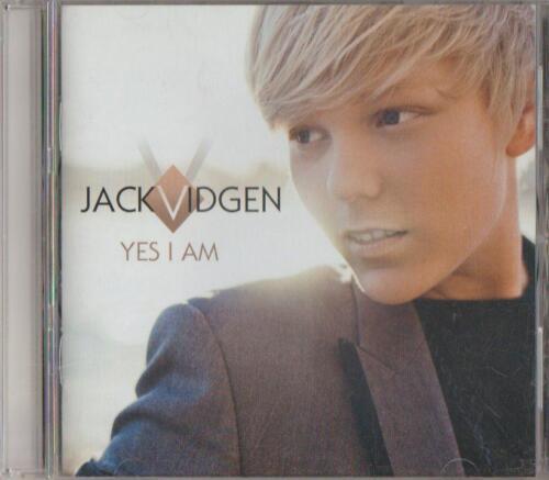 1 of 1 - C.D.MUSIC  D545  JACK VIDGEN : YES I AM   CD