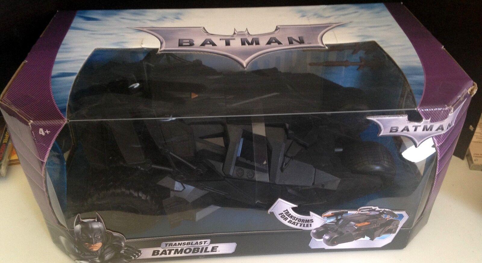 Batuomo Transblast Batmobile Veicolo  Nuovo in The scatola  fuori Stampa  Nuovo