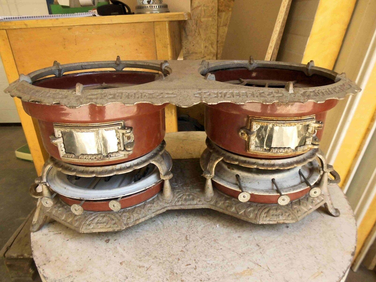 Antiker seltener seltener seltener Petroleum Kocher mit Marke 6 Flammen Tischkocher sehr Dekorativ  | Mittel Preis  4e0e63
