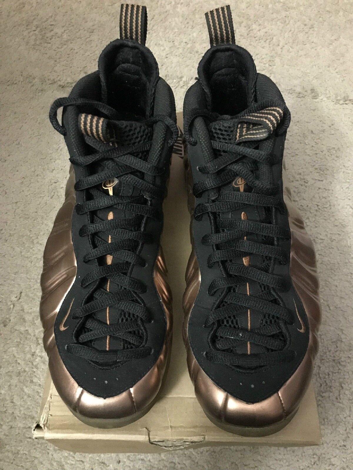 Nike Air Foamposite One 2010 Metallic Copper  Size 8.5  314996-081