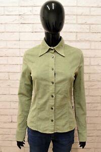 Camicia-GAS-Donna-Taglia-S-Maglia-Shirt-Woman-Manica-Lunga-Elastica-Blusa
