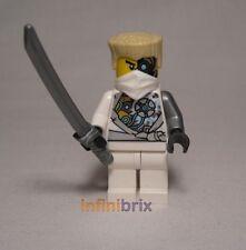 LEGO Zane riavviato BATTAGLIA Sfregiato NINJA dal Set 70724 NINJAGO ELICOTTERO NUOVO njo085