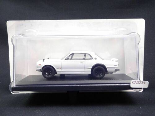 Nissan Skyline 2000 GTR 1970 1//43 Scale Box Mini Car Display Diecast
