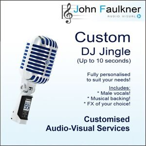 Details about Personalised DJ Jingle  Voice Over  DJ Drop  10 seconds  Free  Digital Delivery