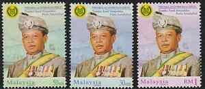 273A-MALAYSIA-2001-PERLIS-SULTAN-SET-FRESH-MNH