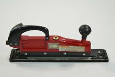 Central Pneumatic Straight Line Sander Air 91773 Red 90 Psi 5 Cfm Used