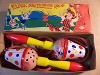 Antique / Vintage Musical Doll Skipping Rope -- Vintage Toy--new In Box