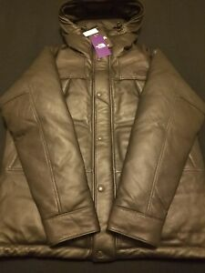 Nwt North Face Purple Label Mountain Down Leather Jacket X Large