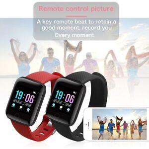 A6-Smart-Watch-Heart-Rate-Monitor-Waterproof-Bracelet-Wristband-Watch-Grid-Band