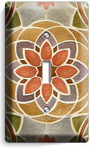 TUSCAN STONE TILES PRINT LIGHT SWITCH WALL PLATE OUTLET COVER KITCHEN ART DECOR