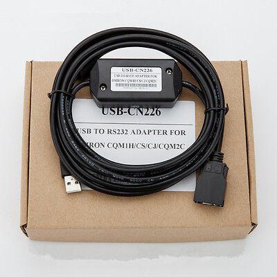 CS1W-CN626 PLC Programming Cable pour Omron CS//CJ//CQM1H//CPM2C PLC 6 m