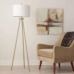 Tripod Floor Lamp - Antique Brass - Threshold™ | eBay