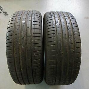 2x-Pirelli-P-Zero-Seal-Inside-245-35-r20-95y-Dot-1417-6-mm-pneus-d-039-ete