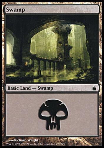 20x Palude 298 Swamp 298 MTG MAGIC Rav Ita