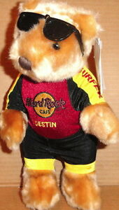 Hard-Rock-Cafe-DESTIN-2004-034-WIND-SURFER-034-Teddy-Bear-PLUSH-City-New-with-Tags-60