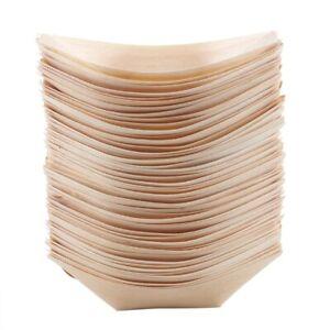 50x-finger-food-bowls-034-boat-034-biodegradable-wood-11-cm-x-6-5-cm-L2S8