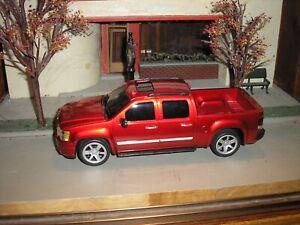 RARE CUSTOM GMC Sierra Denali Toy Pickup Truck 1:24 Red w ...