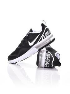 Détails sur Nike Air Max Fury GS Running Baskets Noir afficher le titre d'origine