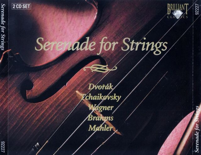 SERENADE FOR STRINGS / 2 CD-SET - TOP-ZUSTAND