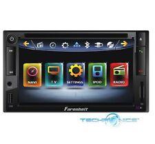 "FARENHEIT 6.5"" TOUCHSCREEN DVD PLAYER BLUETOOTH USB IPOD CAR RECEIVER HD MONITOR"