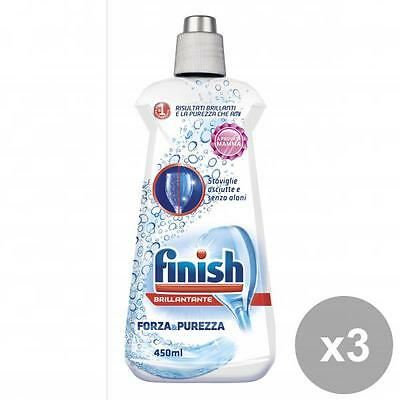 Kit 3 FINISH brillantante Freschezza & Profumo 450ml