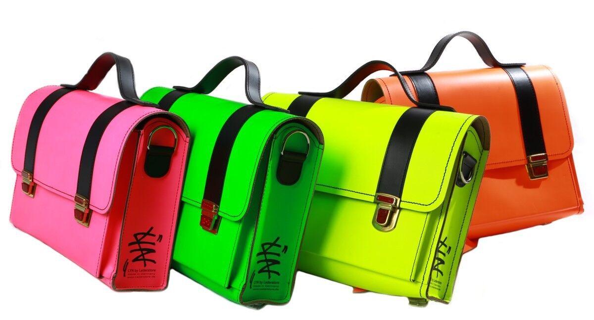 Messenger Bag  Tornister  LYN by Lederstore Aktentasche Echtleder Handarbeit | Um Sowohl Die Qualität Der Zähigkeit Und Härte  | Innovation  | Hohe Qualität und Wirtschaftlichkeit
