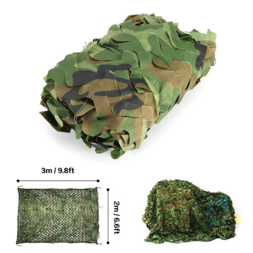 Tarnnetz Camouflage Jagd Armee Tarnung Tarn Camo Woodland Netz Hunter 4*5M DHL