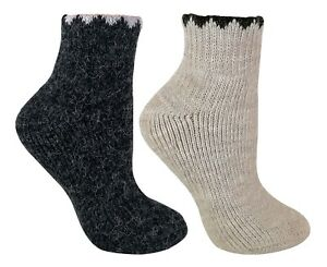 Womens-Thick-Winter-Ankle-Low-Cut-Alpaca-Wool-Blend-Walking-Boot-Socks-LABS