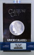 1885 CC $1 Morgan Silver Dollar NGC MS65 GSA Hoard
