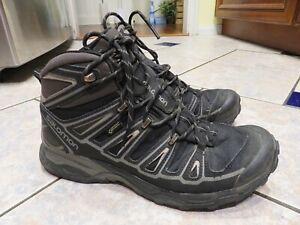 brand new 0e204 d13fc Details about Mens SALOMON X Ultra 2 Mid GTX Goretex Hiking Trail Boots  Shoes 9.5 $285