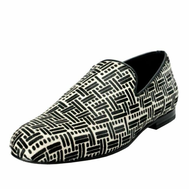 40 Sloane Pony Tones Slip Loafers Hair On Us Choo Jimmy Eu 8 Shoes Men's Two WdeCrxBo