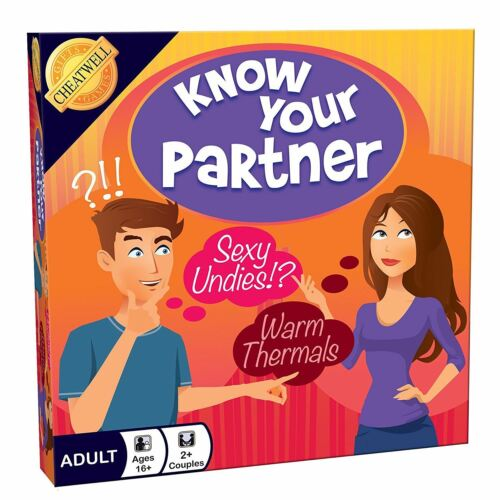 Cheatwell Games Know Your Partner Adult Couples Truth Revealing Board Game