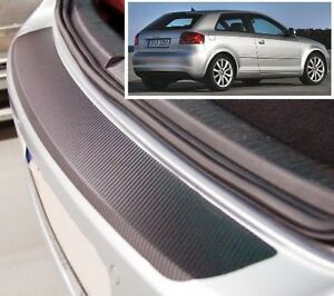 Audi-A3-8P-Carbone-Style-Pare-Chocs-Arriere-Protection
