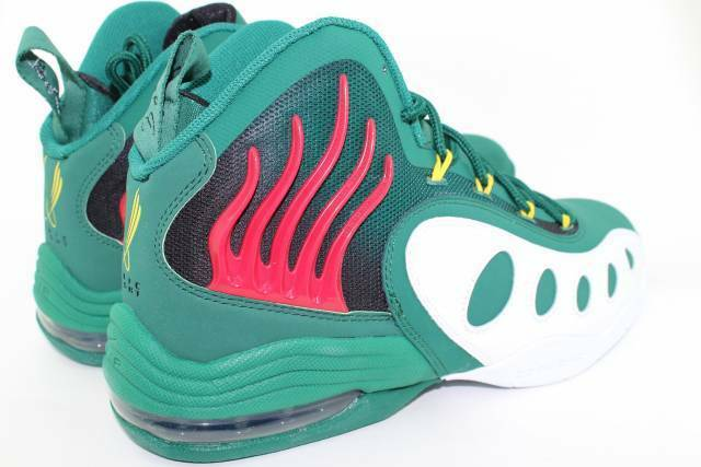 NIKE SONIC FLIGHT LEGION GREEN Size  7.0 NEW AUTHENTIC RARE