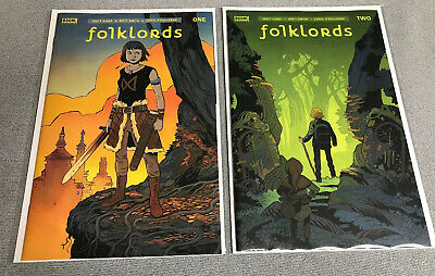 FOLKLORDS #1 DAN MORA 1:25 VARIANT COVER BOOM STUDIOS KINDT SNITH O/'HALLORAN
