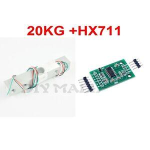 DIYmall 20KG Scale Load Cell Weighing Sensor +24bit HX711 AD Module Weigh Sensor
