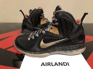 promo code 99358 22d3d Image is loading NIKE-LEBRON-9-WATCH-THE-THRONE-SIZE-9-