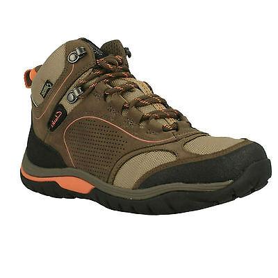 womens Clarks ladies Intour Route GTX Waterproof Nubuck Leather Boots 3-3.5 D