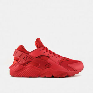 Image is loading Nike-Air-Huarache-Varsity-Triple-Red-Size-12-