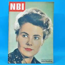 NBI 26/1962 DDR Volksmarine Fibag Krebs Wismar Zarnekow Reimershagen Wartenberg