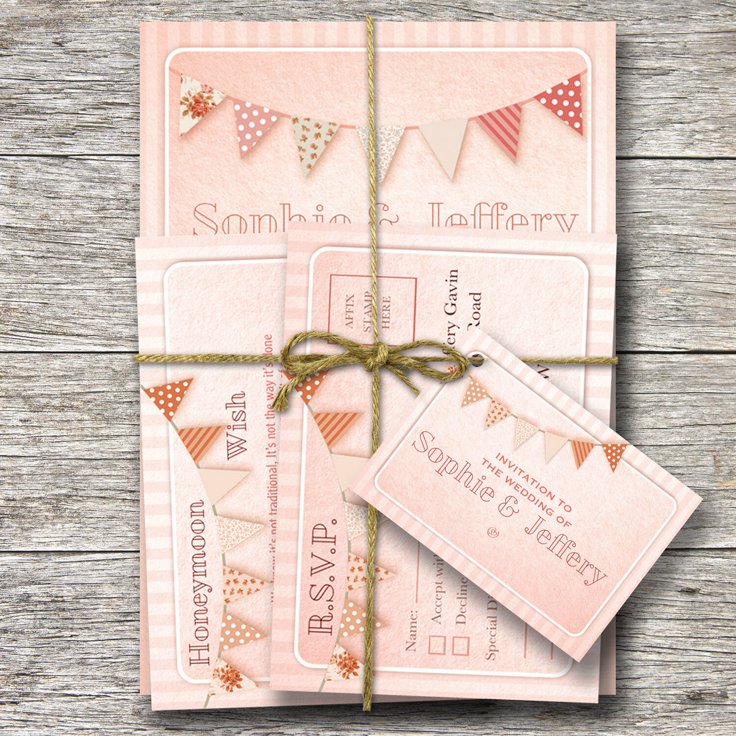 Personalised Wedding Day Evening Invitations inc FREE envs - Other items