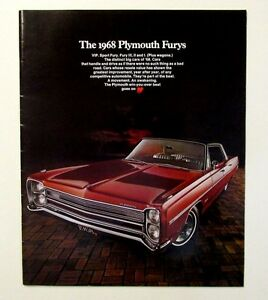 original 1968 plymouth sales brochure mancini motors mountain view ca 32 pages ebay ebay