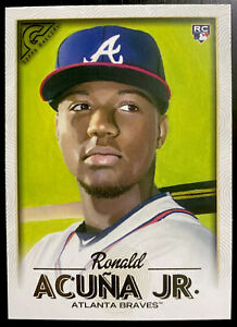 2018 Topps Gallery Ronald Acuna Jr. Rookie #140 Atlanta Braves RC Mint Condition