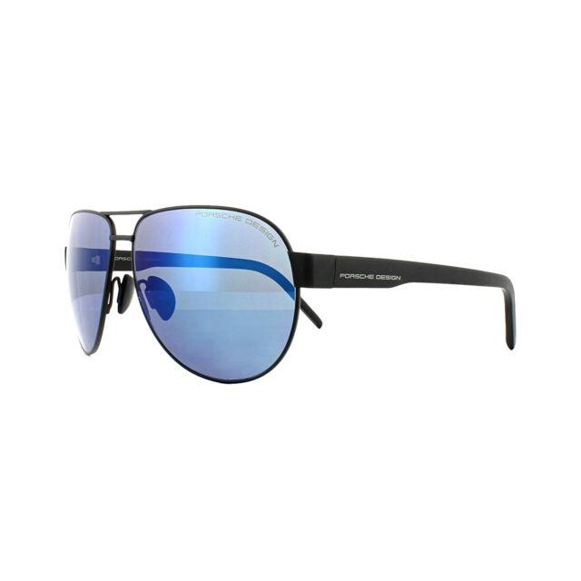 52341733e3 Porsche Design gafas de Sol P8632a V790 negro espejo azul | Compra ...