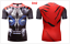 Superhero-Superman-Marvel-3D-Print-GYM-T-shirt-Men-Fitness-Tee-Compression-Tops thumbnail 52