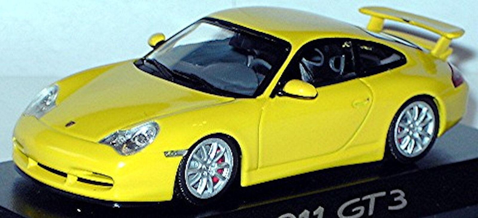 Porsche 911 gt3 type   996 Coupe 1999-2004 Speedjaune jaune 1 43 Minichamps  économisez 60% de réduction et expédition rapide dans le monde entier