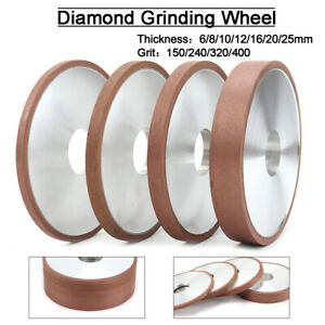"""1Pc 6/""""Cup Diamond Grinding Wheel Disc Abrasive Tools Carbide Cutter 150~400 Grit"""