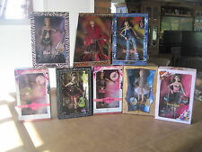 Hard Rock Cafe Barbie Complete 8 Doll Set